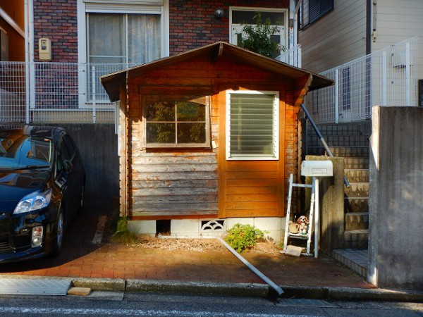 岡崎市T様木製ハウス塗装工事