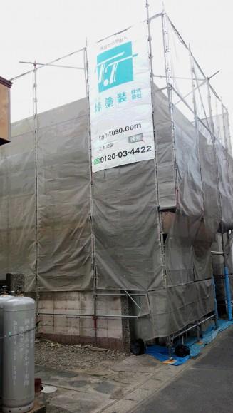 岡崎市K様邸外壁塗装工事