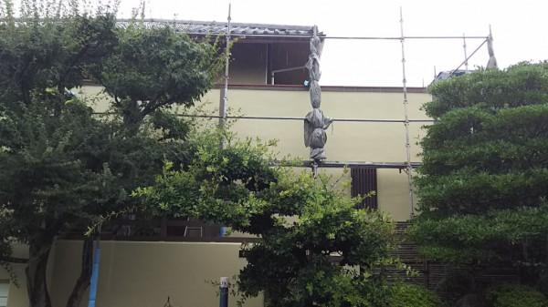 岡崎市K様邸 台風の備え