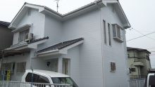 岡崎市Y様邸外壁塗装工事